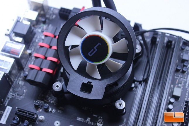 Cryorig A40 with Airflow Fan