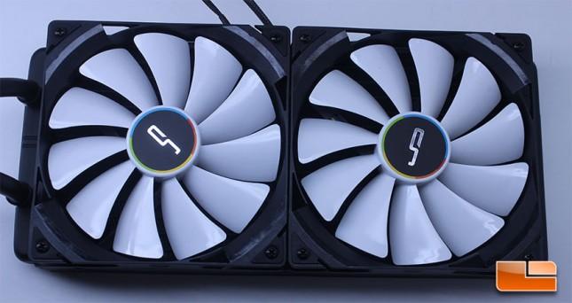 Cryorig A80 Radiator fans installed
