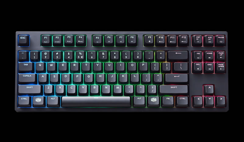Cooler Master Masterkeys Pro L And Pro S Gaming Keyboards Launched Legit Reviews