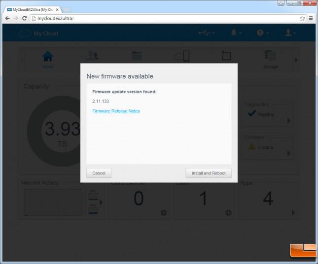 mycloudex2ultra-dashboard-firmware