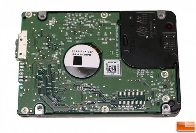 WD PiDrive 314GB Back