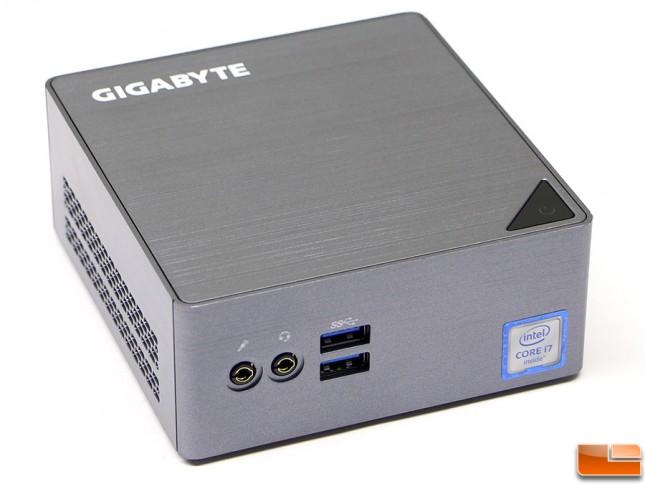 Gigabyte BRIX S BSi7-6500 Front Panel