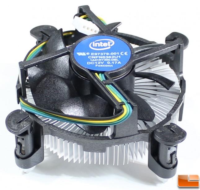 Intel Pentium G4400 CPU Cooler