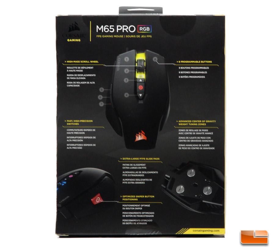 Corsair Gaming M65 RGB Mouse Driver
