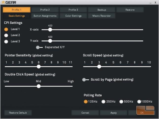 Fnatic Gear Flick Software