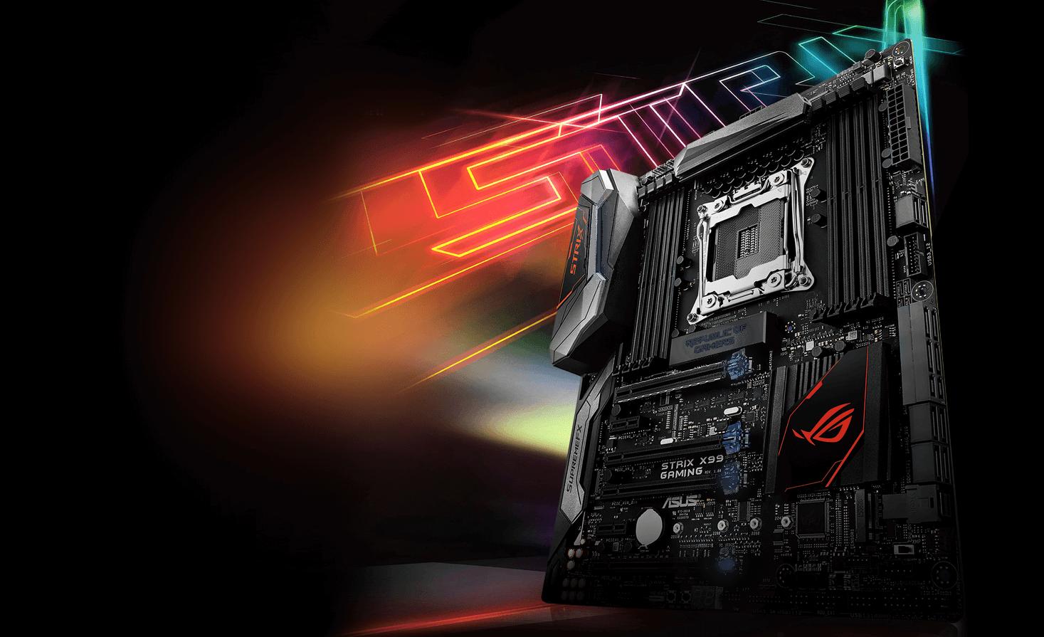 Asus Releases New X99 Gaming Motherboard - Legit Reviews