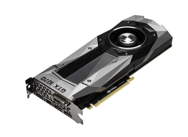NVIDIA GeForce GTX 1070 Video Card
