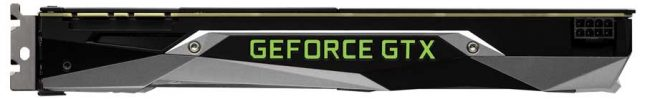 NVIDIA GeForce GTX 1070 Power Connector