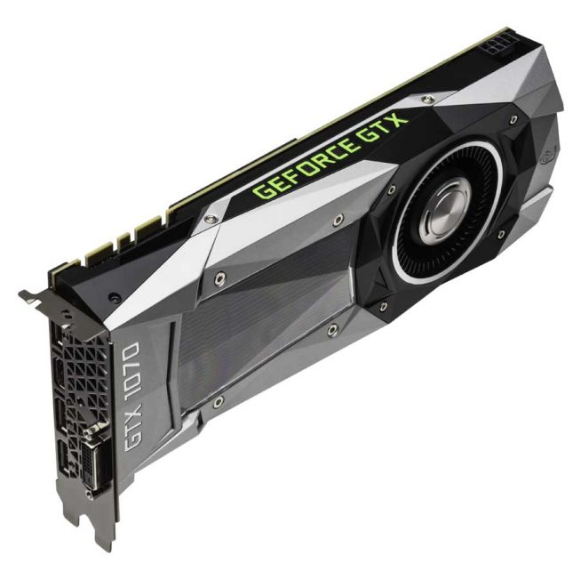 NVIDIA GeForce GTX 1070 8GB Founders Edition