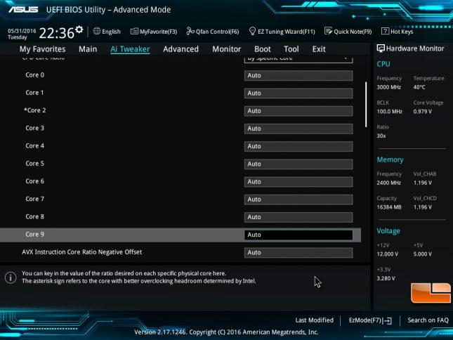 Core i7-6950X Better Core