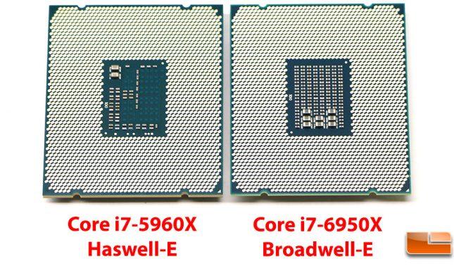 Broadwell-E versus Haswell-E