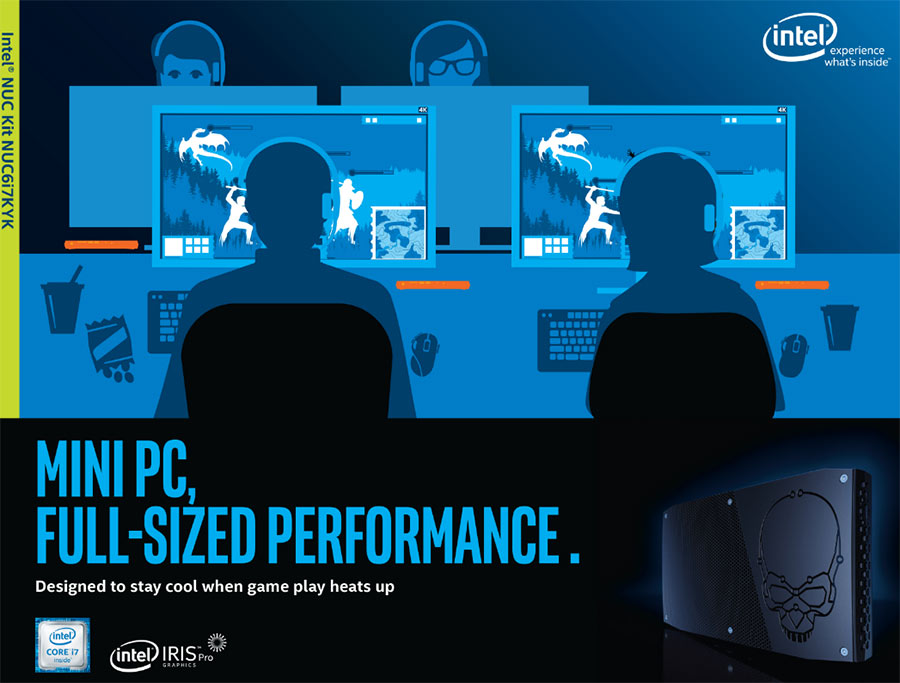 Intel NUC NUC6i7KYK Skull Canyon Mini PC Review - Legit