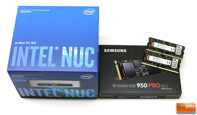 Intel nuc6i5syk build