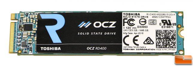 Toshiba-OCZ RD400 512GB M.2 PCIe SSD