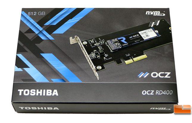 Toshiba OCZ RD400 PCIe SSD