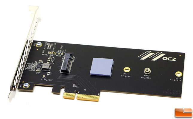 The OCZ RD400 Add-in Card Comes With a Thermal Pad