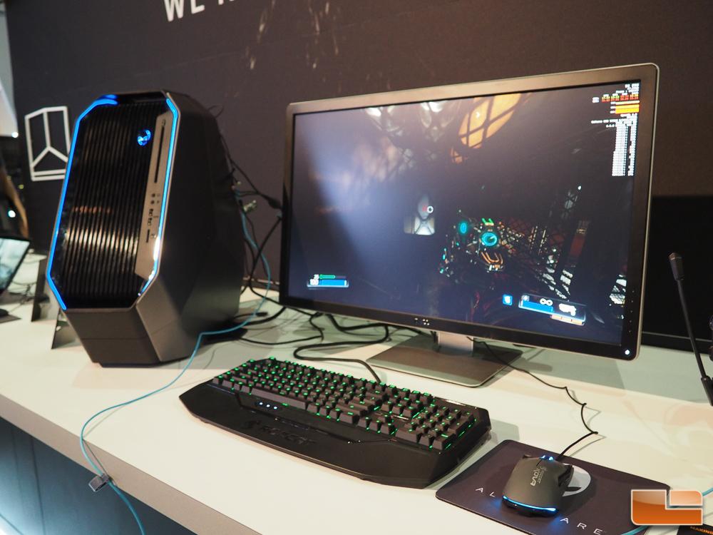 Alienware displays area 51 desktop gaming pc at e3 2016 - Alien desktop ...