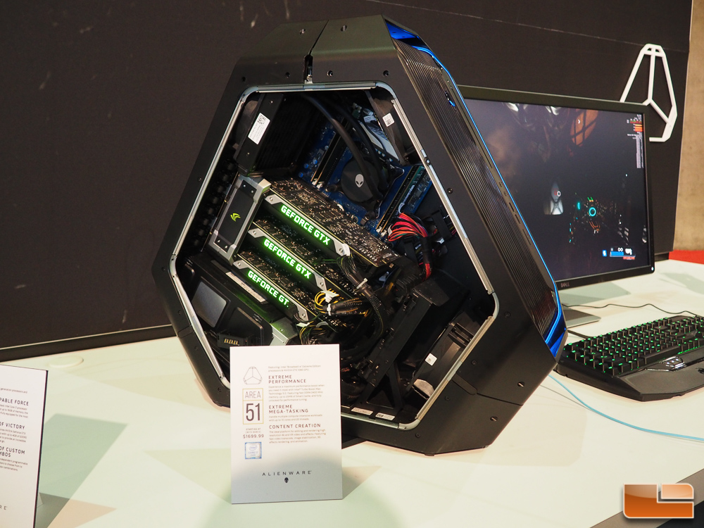 Alienware Displays Area-51 Desktop Gaming PC At E3 2016
