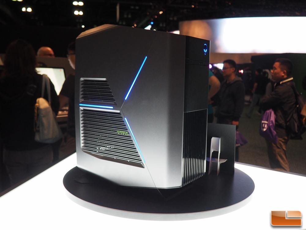 Alienware Shows Off New Aurora Desktop Pc At E3 2016