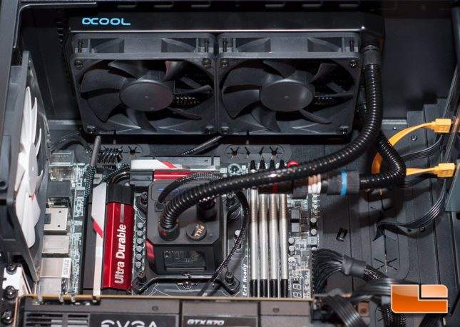 Alphacool Eisbaer - Completely Installed