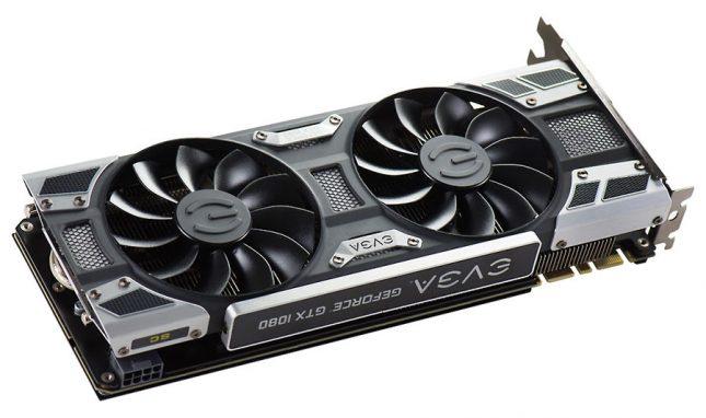 EVGA GeForce GTX 1080 SC Power Connector