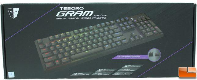 Tesoro GRAM Spectrum RGB Keyboard