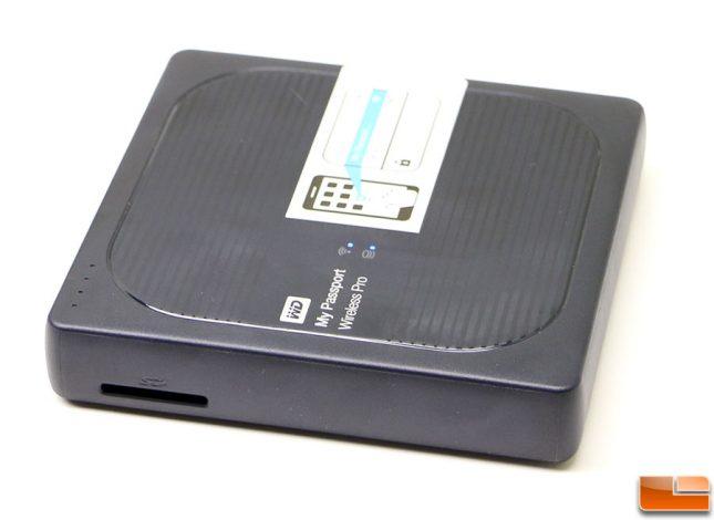 WD My Passport Wireless PRo SD Card Reader