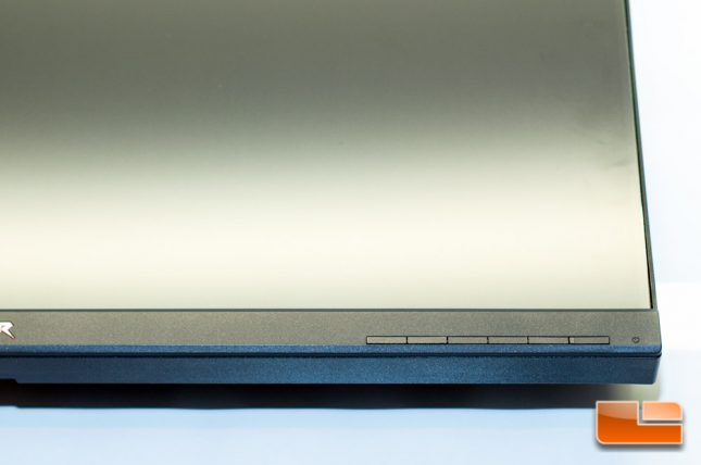 Acer Predator XB271HU - Buttons