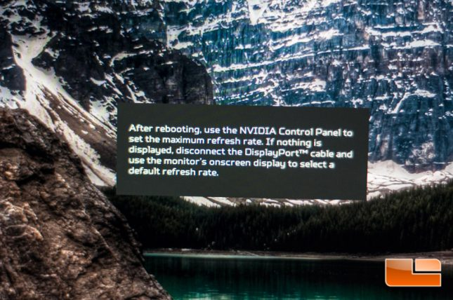 Acer Predator XB271HU - On-Screen Menu