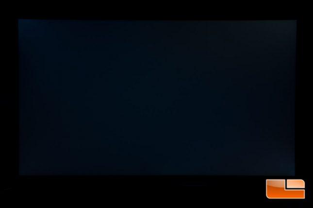 Acer Predator XB271HU - Backlight Leakage - 25%