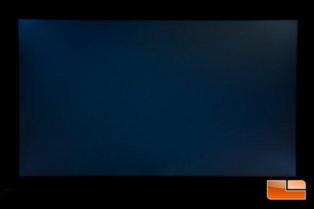 Acer Predator XB271HU - Backlight Leakage - 100%