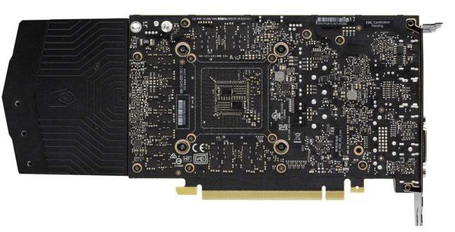 GeForce GTX 1060 Back