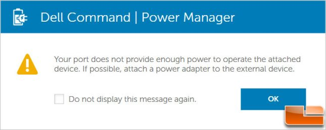Dell Command Power Manager