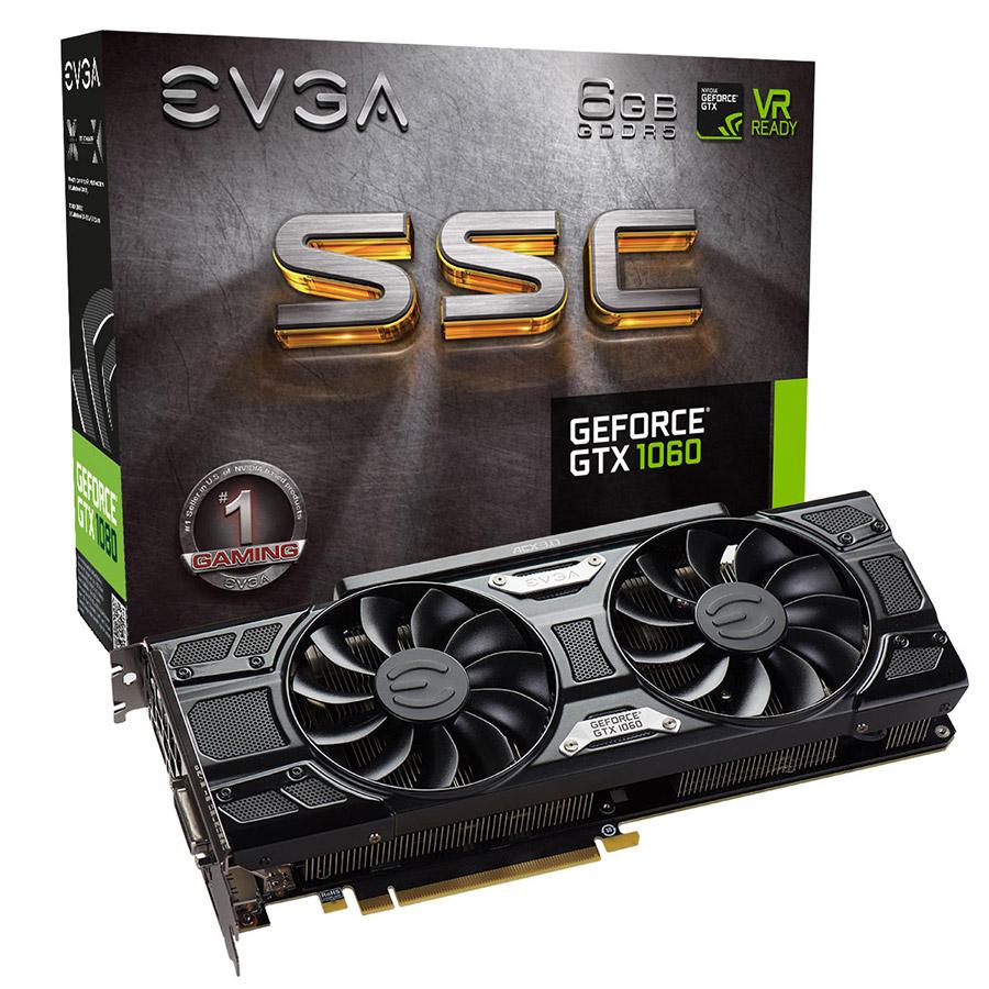 Introducing The EVGA GeForce GTX 1060 Lineup