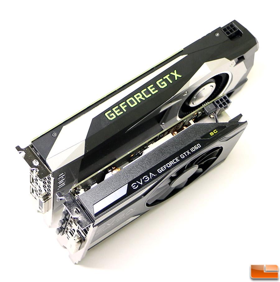NVIDIA and EVGA GeForce GTX 1060 Video Card Review - Legit
