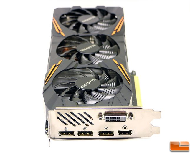 Gigabyte GeForce GTX 1070 G1 Gaming Display Outputs