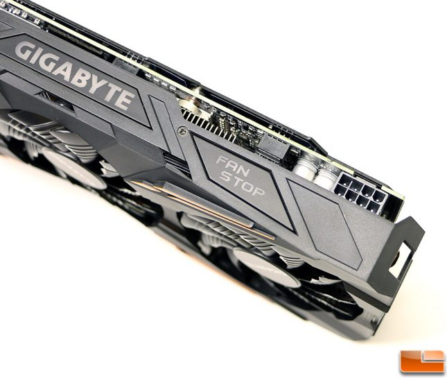 Gigabyte GeForce GTX 1070 G1 Gaming 8-Pin Power Connector