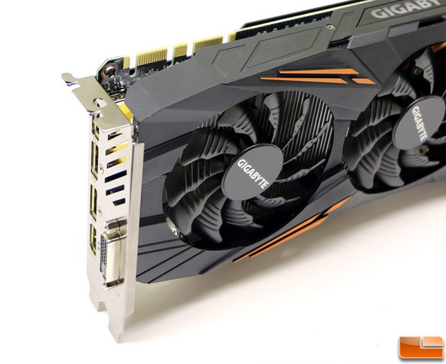 Gigabyte GeForce GTX 1070 G1 Gaming SLI Connectors