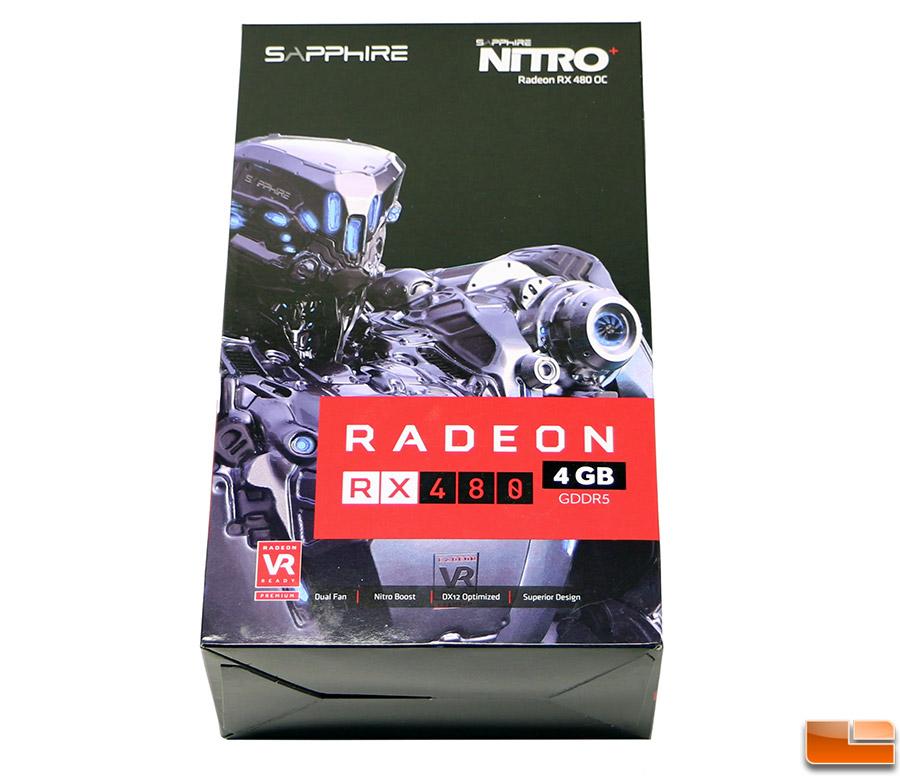 Sapphire Nitro Radeon RX 480 4GB Video Card Review - Legit