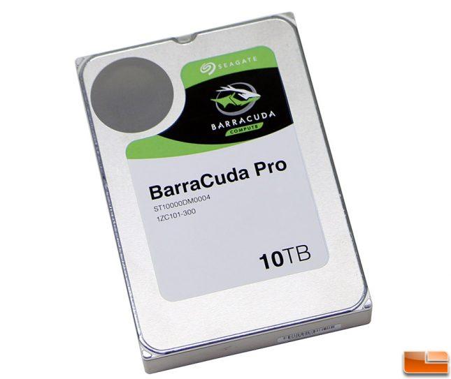Seagate BarraCuda Pro 10TB HDD