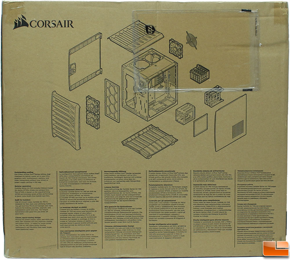 Corsair Carbide Air 740 Case Review Legit Reviewscorsair 540 Wiring Diagram