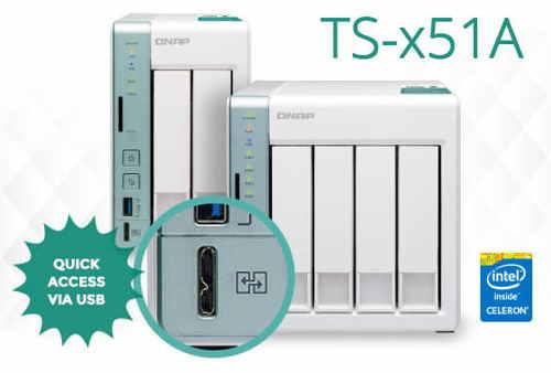 Qnap Announces TS-x51A Series NAS With USB 3 0 QuickAccess