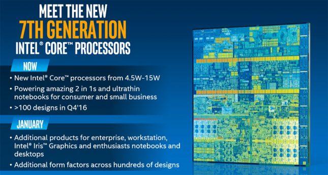 Intel 7th Generation Processor