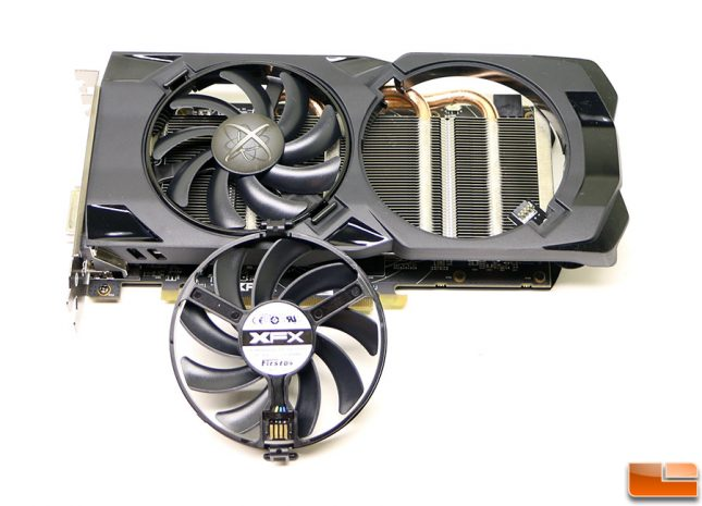 XFX Radeon RX 470 4GB Hard Swap Fan