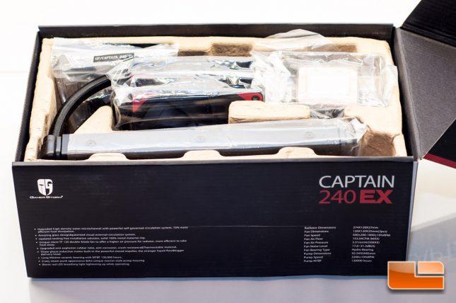 Deepcool Captain 240 EX - Box Interior