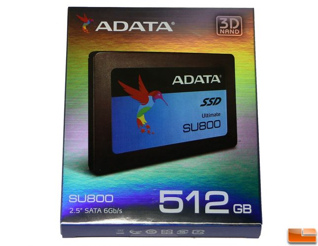 ADATA SU800 512GB SSD Retail Box