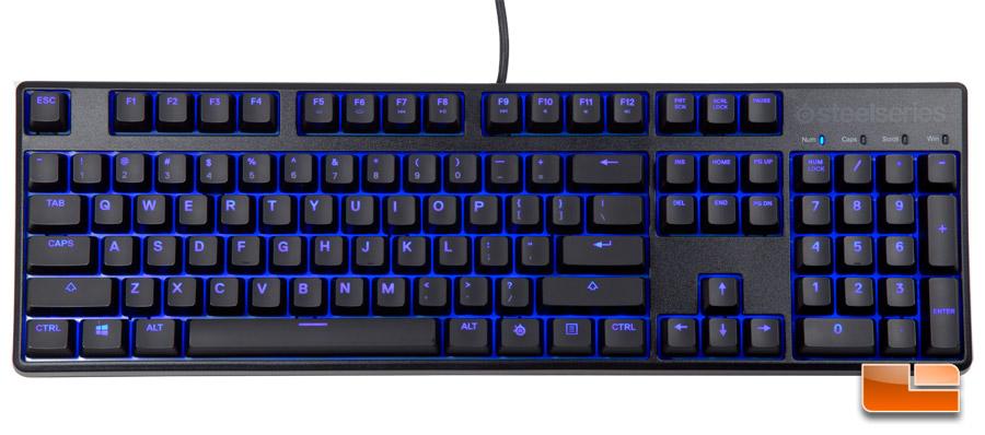 SteelSeries Apex M500 Mechanical Gaming Keyboard Review ...