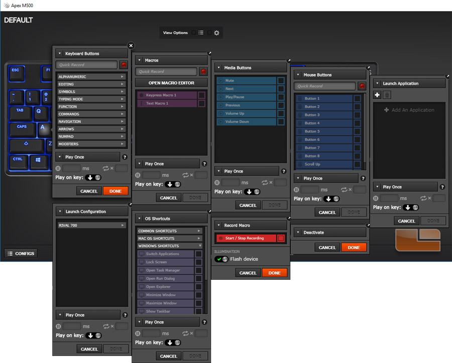 Steelseries Apex M500 Mechanical Gaming Keyboard Review
