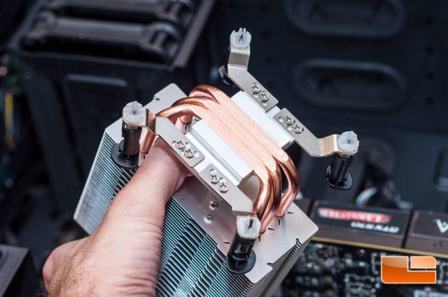 Cooler Master MasterAir Pro 3 and Pro 4 - Push-Pin