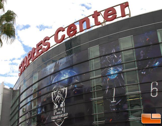 League of Legends World Championship 2016, Staples Center